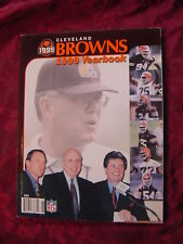 CLEVELAND BROWNS NFL Football 1999 Official Yearbook