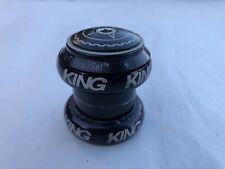 Chris King 1 1/8 No Threadset Black