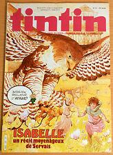 BD Comics Magazine Hebdo Journal Tintin No 10 38e 1983 Isabelle