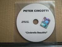 PETER CINCOTTI - CINDERELLA BEAUTIFUL - CD singolo PROMOZIONALE warner group