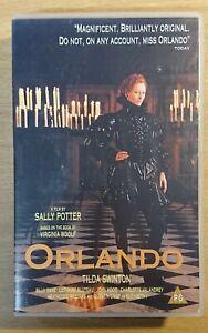 ORLANDO - VHS VIDEO - BIG BOX EX-RENTAL - TILDA SWINTON