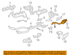 MERCEDES OEM 03-08 SL55 AMG 5.5L-V8-Muffler 2304900721