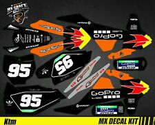 Kit Déco Moto pour / Mx Decal Kit for Ktm SX / SX-F - GoPro Black Edition