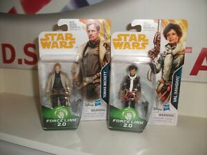 star wars Tobias Beckett & Val FORCE LINK bundle SOLO MOVIE NEW postage discount