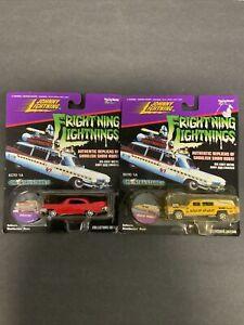 Johnny Lightning Frightening Christine  Haulin Hearse Hearse Car Lot NEW SEALED