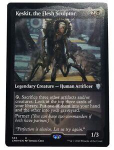 MTG. Commander Legends. CMR. 565. Keskit, the Flesh Sculptor. Etched Foil