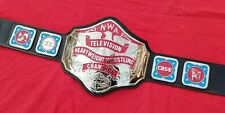 NWA TELEVISION HEAVYWEIGHT WRESTLING CHAMPIONSHIP BELT.ADULT SIZE