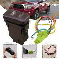 12V LED Fog Light Bar Push Switch For Toyota Hilux Land Cruiser Fortuner 4Runner