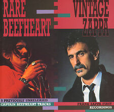 CAPTAIN BEEFHEART/FRANK ZAPPA – Rare Beefheart / Vintage Zappa (1991 DUTCH CD)