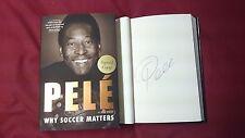 Pelé Why Soccer Matter Signed BOOK 1/1 DJ HC Brazil Football World Cup FIFA Pele