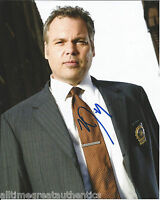 VINCENT D'ONOFRIO SIGNED AUTHENTIC LAW & ORDER FULL METAL JACKET 8X10 PHOTO COA