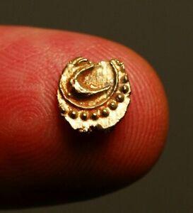 I35-31  Tipu Sultan (1787-1799AD), Gold fanam, Patan mint, AM1219 = 1790AD