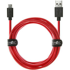 JuicEBitz® 20AWG BIG CORE USB 2.0 Micro B Fast Charger Data Cable Lead Android