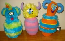 Melissa & Doug Plush Monster Bowling Lot of 3 Replacement Pins