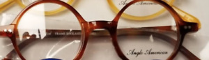 Airlite 1 Round Anglo American AA400 Eyeglasses 44-20-146 DB