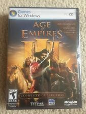 Age Of Empire III 3 Complete Collection Pc Plus Warchiefs And Asian Dynasties