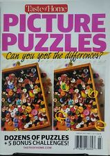 Taste of Home Picture Puzzles Spot the Differences Brain games FREE SHIPPING
