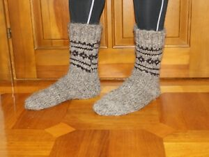 Women/'s Socks Knit Wool Socks Teen Socks Hand Made Wool Socks Boy/'s Wool Men/'s Socks 10-11 Wool socks Hand Cranked Wool Socks