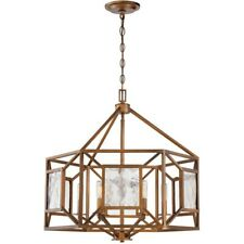 Designers Fountain Athina 6 Light Chandelier, Gilded Bronze - 89486-GB