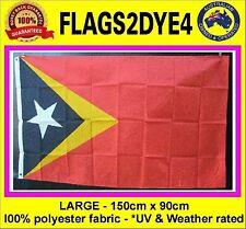 East Timor flag Timorese Timor Leste flag includes AUSTRALIA POST TRACKING