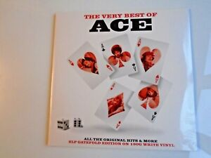 ACE The Very Best Of Ace UK double LP new mint sealed white vinyl 180g