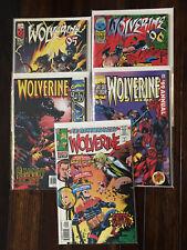 Marvel WOLVERINE ANNUAL 95 96 97 & 99 DEADPOOL + FLASHBACK 1 VF/NM