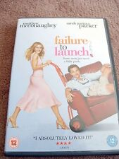 Failure To Launch - Matthew McConaughey Comedy - Genuine UK Region 2 DVD