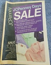 JC Penny 1988 sale catalog