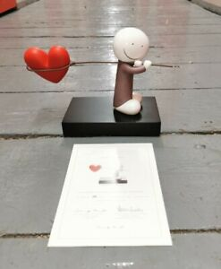 Limited Edition Doug Hyde Caught up in love cold cast porcelain sculpture 82/395