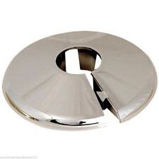 2 x 15mm NEW CHROME TALON RADIATOR PIPE COLLARS COVER - FREE UK DELIVERY