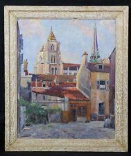 Ferdinand CHAUMEAU (1885-1950)Cathédrale Saint-Bénigne Dijon Bourgogne Côte-d'Or