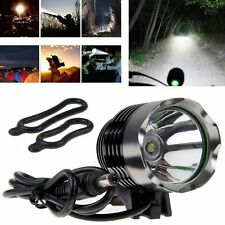 Summer Outdoor Cycling CREE T6 LED Bike Head Lamp Light w/ Rechargeable Battery