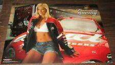 2006 Budweiser Racing sexy pin up poster Nascar