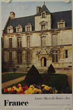 Affiche France SAINTES Musée des Beaux Arts - Ann.'60 Imp. Braun - Tourisme
