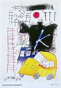 Untitled (1981), 2002 Exhibition Poster, Jean-Michel Basquiat - LARGE