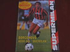 SuperMilan n. 2 del 1989! Nuovo Milan! 3 nuovi poster! Nuovo!