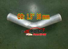 "1.5"" inch 38mm Aluminum Intercooler Tube Pipe 45 Degree Turbo Hose length 600mm"