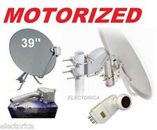 "39 "" MOTORIZED SATELLITE DISH-SG2100 MOTOR INVACOM QUAD LNB QPH031 FTA 33 HD TV"