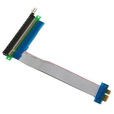 Flexible Cable PCIe PCI Express 1x To 16x Extender Riser FFC PCI-E 1x-16x.