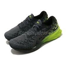 Asics Dynablast Black Lime Zest Grey Men Running Shoes Sneakers 1011A819-002