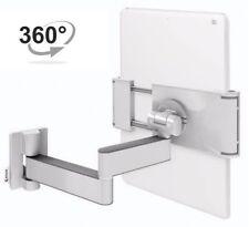 Tablet Wandhalterung A11 Klammer Halterung für 7-12 Zoll Wanhalter 360° Weiß