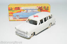 QUIRALU SIMCA MARLY BREAK COMMERCIALE AMBULANCE MINT BOXED