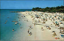 JAMAIKA Postkarte Jamaica Postcard Montego Bay Beach AK mit Briefmarke frankiert