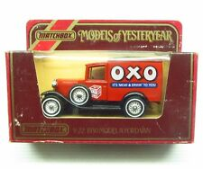 * 1980s * Matchbox Yesteryear * 1930 Model A Ford Van * OXO * Y-22 * England MIB