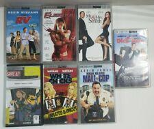Sony PSP UMD Movie Lot Of 7 RV Elektra Mall Cop Dick and Jane Mr & Mrs Smith