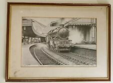 More details for king class 6005 king george ii leaving paddington ,tom connell 1983 abbot print