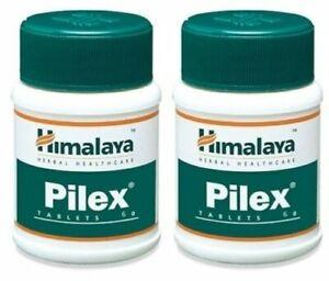 Pilex Tablets Piles Hemorrhoids Varicose Veins Piles Herbal Pain Relief -60 Tabs