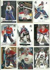 2011 11-12 UD UPPER-DECK ARTIFACTS BASE AVALANCHE PATRICK ROY #33