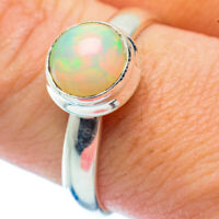 Ethiopian Opal 925 Sterling Silver Ring Size 9.5 Ana Co Jewelry R35753F