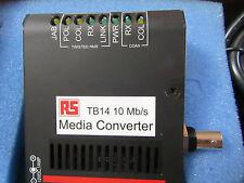 Garrett 1 port Rack Mount Media Converter - Ethernet Converter NEW 1005 4516363